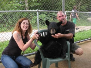 I touched a bear and I liked it.