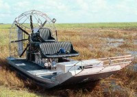 An Airboat.