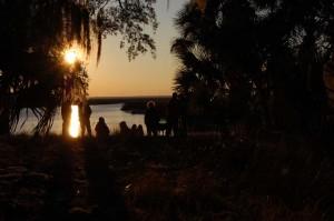 sunset sillhouette