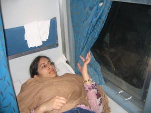 My stunning view from the Mumbai-Rajkot train